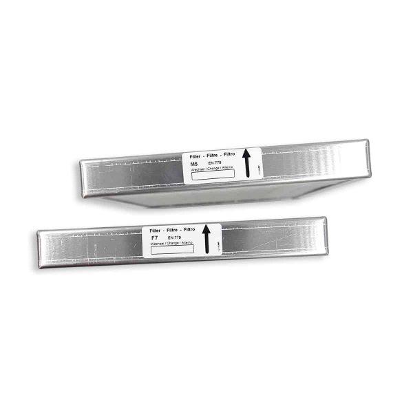 Feinfilter-Set F5für Außenluft und Abluft für ALW-25/35 (2 Stk.)